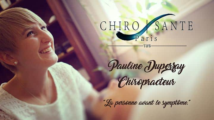 Chantal Tran, Chiropracteur à paris 15